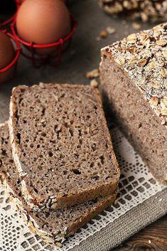 sourdough rye bread (no knead) Sourdough Rye Bread, Bread Baking, Bread Recipes, Banana Bread, Food And Drink, Rolls, Low Carb, Breads, Pizza