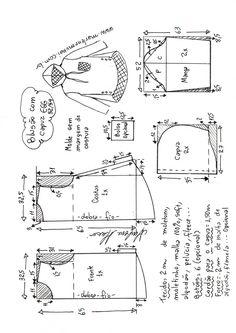T Shirt Sewing Pattern, Pattern Drafting, Dress Sewing Patterns, Pants Pattern, Top Pattern, Clothing Patterns, Sewing Blouses, Make Your Own Clothes, Sewing Lessons