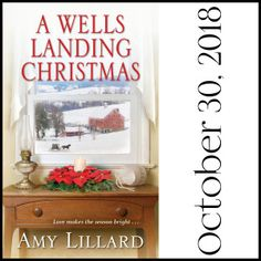 A Wells Landing Christmas – Amy's Amish Adventures Amish Community, Wells, True Love, Landing, Books, Christmas, Real Love, Livros, Yule