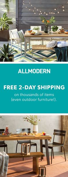 Outdoor - Sign up now for FREE SHIPPING on orders over $49 at allmodern.com!