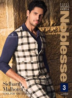 Check out: Sidharth's Killer Look on the Latest Cover of Noblesse India! | PINKVILLA