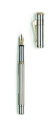 Graf Von Faber-Castell Classic 925 sterling silver with 18ct two colour gold nib