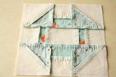 Hand pieced quilt along...tutorial.