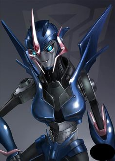The Autobot Arcee, from Transformers: Prime. My 5th favorite Autobot of all time.  #SonGokuKakarot