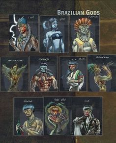 Gods around the world: Brazil