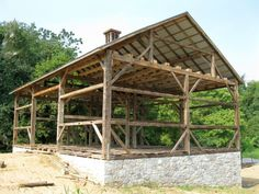 reclaimed timber frame Structures | Pennsylvania | Old Reclaimed Wood | Pennsylvania 18960