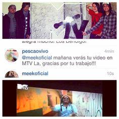 Que Dios te permita disfrutar de ver el trabajo de @RúbricaCreativa y el tuyo en @MTVLa con @PescaoVivo es una emoción indescriptible! #Dios #mas #que #fiel #rock #musica #video #oficial #mtvla #latinoamerica #emoción #enjoy #life #Colombia. Pecaos Son los mejores!