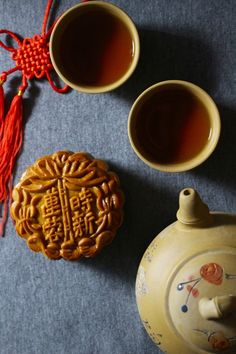 Mooncakes and Tea (2) by Evelyn Li on 500px  // Happy Zhongqiujie from Smith Teamaker!