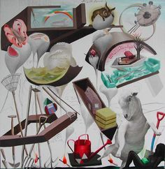 Image result for andrew mcleod paintings