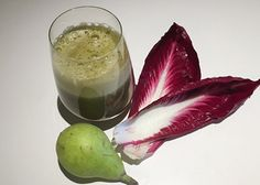 You've seen endive in a salad, but guess what? You can also add it to your juice! The combination of its bitterness with sweet pear and tart lemon hits all of your points of satiety.