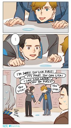 Only some people will understand this 😂😂😂 Newt Scamander - Fantastic Beasts - Konnor Detroit: Become Human Crossover - Memes Humor, New Memes, Funny Humor, Hilarious Jokes, Funny Meme Comics, Funny Stuff, Animal Jokes, Funny Animal Memes, Funny Animals