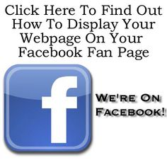 How to Add Your Webpage to Your Facebook Page http://fiverr.com/chivvy/show-you-how-to-integrate-your-website-into-your-facebook-fan-page