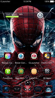SpiderMan 2 Theme is totally FREE</br> nSpiderMan 2 Theme Covers icons, wallpaper, folders, menus, skin and all launcher elements, to provide a complete set of phone's launcher beautification program! </br> n nSpiderMan 2 Theme is compatible to the wallpapers and lockers of similar products: CLauncher,Go Laucnher,iOS7 Laucnher,Smart Launcher,Nova Launcher,Solo Laucnher. Download SpiderMan 2 Theme and have a try now! If you like SpiderMan 2 Theme, please rate it on Google Play store. </br> n