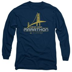 """Checkout our #LicensedGear products FREE SHIPPING + 10% OFF Coupon Code """"Official"""" Star Trek / Marathon Logo - Long Sleeve Adult 18 / 1 - Star Trek / Marathon Logo - Long Sleeve Adult 18 / 1 - Price: $29.99. Buy now at https://officiallylicensedgear.com/star-trek-marathon-logo-long-sleeve-adult-18-1"""
