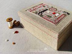 Коробка для швейных принадлежностей