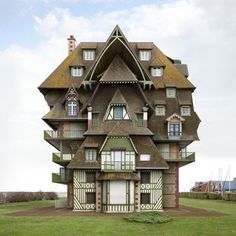 Photographer Filip Dujardin's solo exhibit blurs the line between architectural fact and fiction