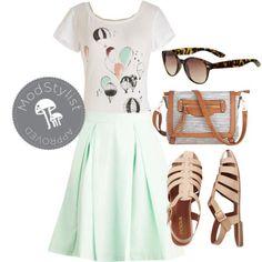 #skirts #mint #crossbody