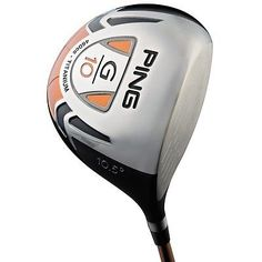 PING GOLF CLUBS G10 10.5 DRIVER SENIOR
