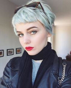 Lovely Pixie Haircut for Women and Girls - Short Hair Color Ideas