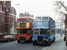 East Ham town hall cross junction Routemaster, Bus Coach, London Bus, London Transport, Town Hall, Coaches, Great Britain, Buses, Ham