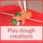 Play dough creations