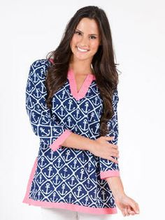 Classic Anchor Monogram Tunic
