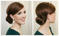Holiday Hair Week: The Twist Wrapped Bun