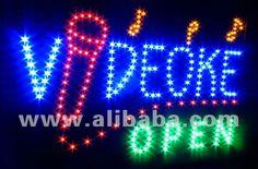 LED sign videoke