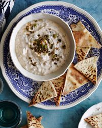 Fried Scallion Dip with Lebneh Recipe on Food & Wine