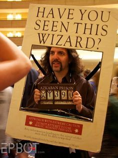 """Make a moving Sirius Black """"Wanted"""" poster with an iPad…"""
