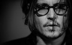 Johnny Depp Monochrome Wallpaper