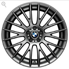 Our favorite #BMW Summer accessories: BMW Cross Spoke 312 in Ferric Gray Wheel and Tire Set