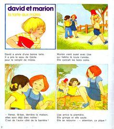 """Les histoires de """"David et Marion"""" dans Pomme d'Api"""