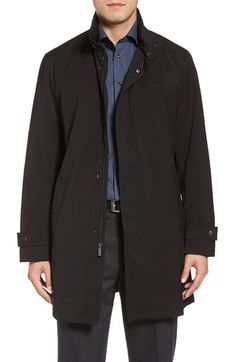 Michael Kors Stretch Rain Coat   Nordstrom