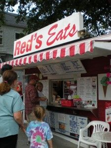 Red's Eats in Wiscasset - world famous lobster rolls