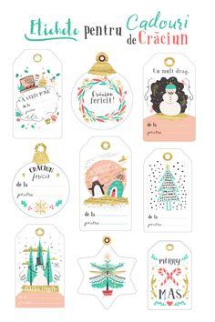 23 Clever DIY Christmas Decoration Ideas By Crafty Panda Christmas Gift Tags Printable, Christmas Printables, Homemade Crafts, Diy And Crafts, Christmas Photos, Christmas Crafts, Christmas Wallpaper, Christmas Decorations To Make, Clever Diy