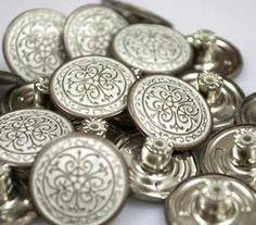 8 pcs Special buttons 17mm by MissWater, $3.22 USD