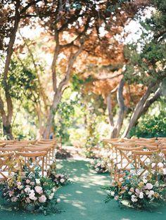 Read More: https://www.stylemepretty.com/2018/03/12/elegant-botanic-garden-wedding-in-san-diego/