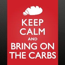 For my friends into carbs