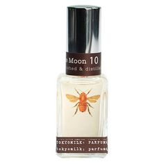 Seriously, my all time favorite perfume.  Ever.      Honey & The Moon No. 10.  Subtly sweet: Honey, Sugared Violet, Jasmine & Sandalwood