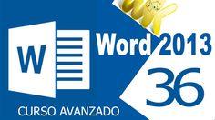 Microsoft Word 2013, como crear multiples etiquetas con excel, Curso ava...