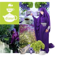 """""""Garden tea party"""" by imaan-imaan on Polyvore"""