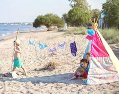 Discover our kids swimwear collection, playful and UV protective for those long beach days