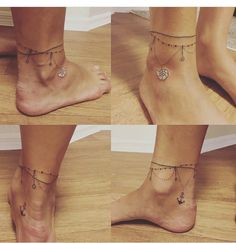 Touch - Tattoos For Women Small Unique Ankle Foot Tattoo, Feather Tattoo Foot, Ankle Tattoo Designs, Anklet Tattoos For Women, Foot Tattoos For Women, Little Tattoos, Mini Tattoos, Small Tattoos, Finger Tattoos