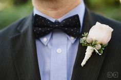 sedona wedding bowtie groom boutineer
