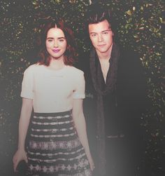 Manip Request - ➵ Harry Styles & Lily Collins ✖ ItsMeChacacul ...