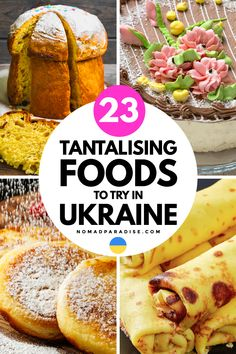 Ukrainian Desserts, Ukrainian Food, Ukrainian Recipes, Russian Recipes, International Food Day, European Dishes, Cocoa Cake, Around The World Food, Food Project