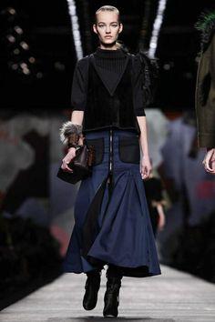 Fendi Ready To Wear Fall Winter 2014 Milan - NOWFASHION
