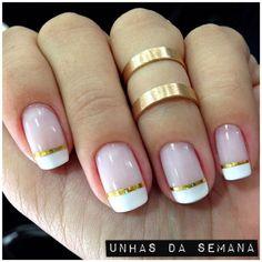 Fabulous Nails, Perfect Nails, Nail Deco, Mack Up, Metallic Nail Polish, Healthy Nails, Cute Nail Designs, Nail Arts, Manicure And Pedicure