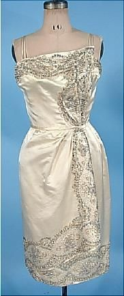 from the 50s... but I would totally wear this dress today!!!